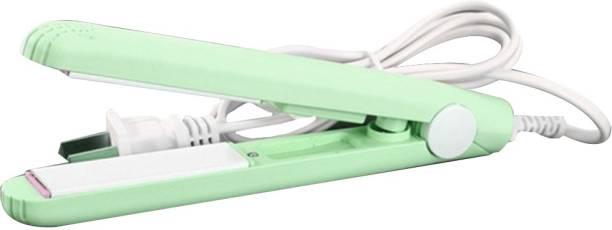 P s retail Mini Hair Straightener - Ceramic Straightener Hair Styling Tools - (Green) 1pc/set Mini Hair Straightener - Ceramic Straightener Hair Styling Tools Hair Straightener