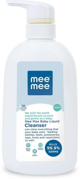 MeeMee Anti-Bacterial Baby Liquid Cleanser for Fruits, Bottles, Accessories & Vegetables - 500 ml Liquid Detergent