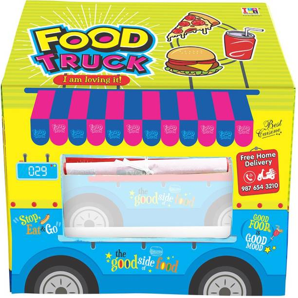 ITOYS Food truck Role Play tent house for Kids