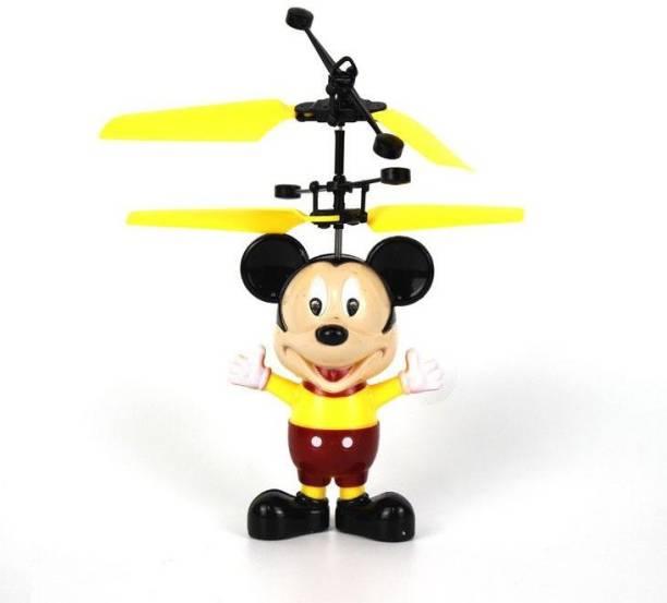 ERetailMart Premium Quality Original Infrared Controlled Gravity Sensor LED Flying Micky