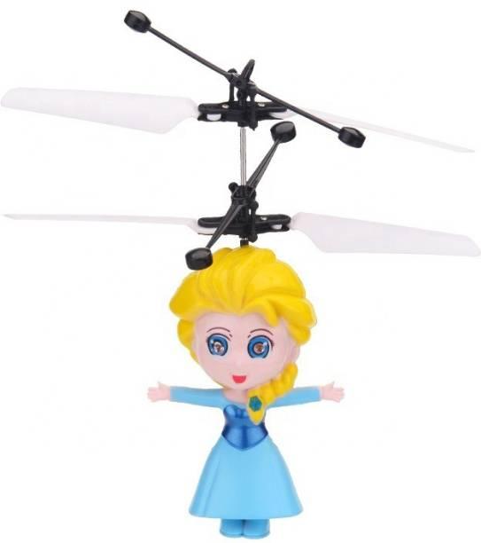 ERetailMart Premium Quality Original Infrared Controlled Gravity Sensor LED Flying Doll