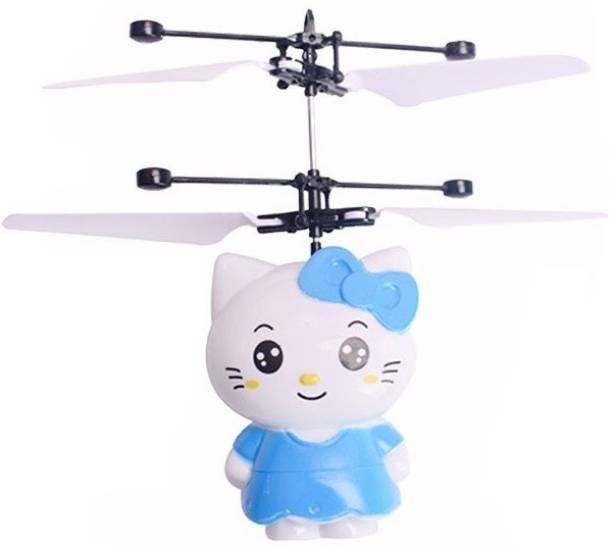 ERetailMart Premium Quality Original Infrared Controlled Gravity Sensor LED Flying Kitty