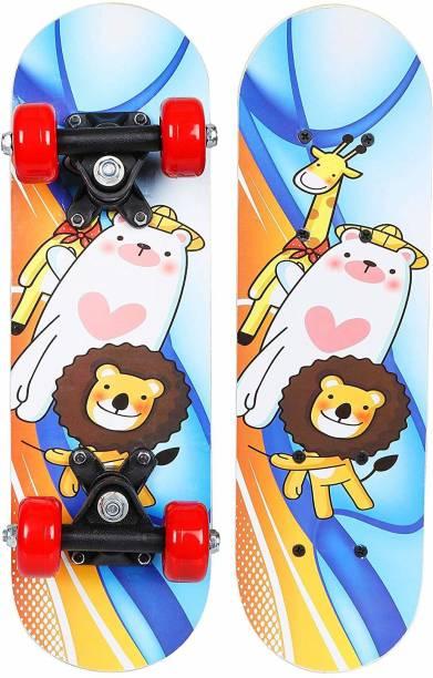 Strauss Lion Kids 5 inch x 17 inch Skateboard