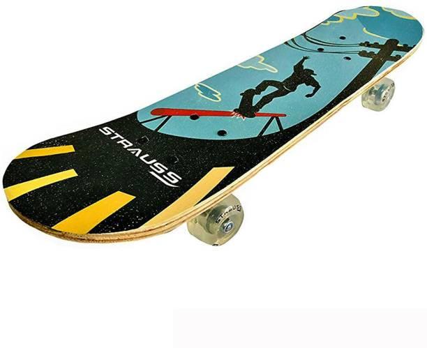 Strauss Bronx KD Skateboard for Kids 23 inch x 6 inch Skateboard