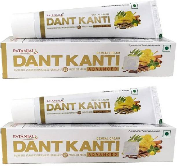 PATANJALI Advanced Toothpaste 50 gm ( Pack of 2 ) Toothpaste