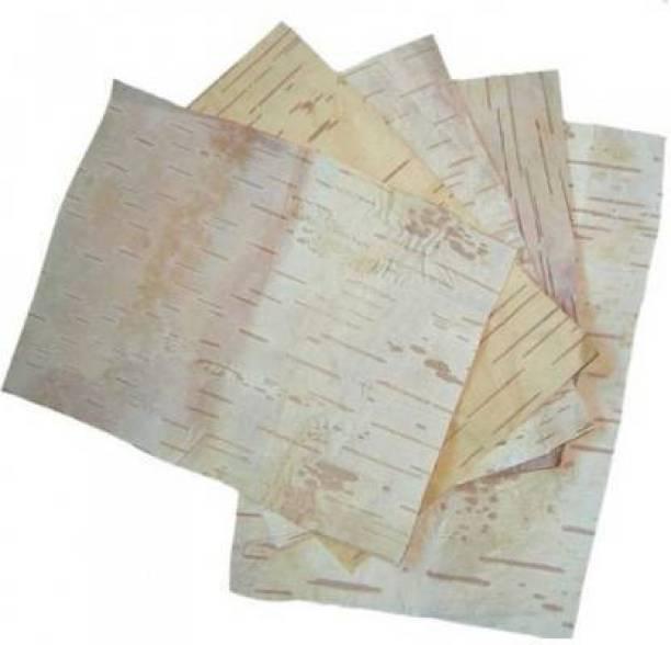 Moksh Jewlery The Divine BHOJPATTRA5 Wooden Yantra (Pack of 5) Wooden Yantra