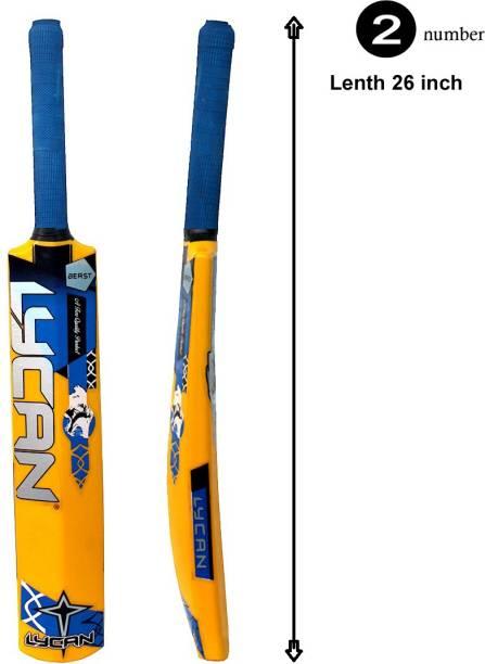 LYCAN beast pvc cricket bat # size 2 for age group 6-7 year PVC/Plastic Cricket  Bat