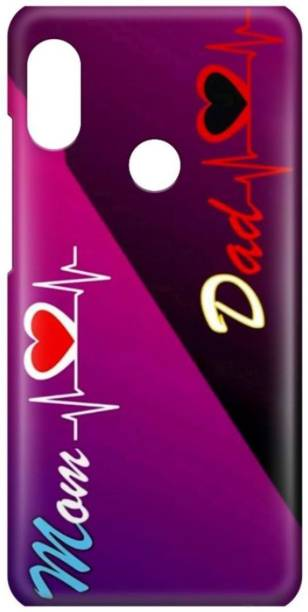 Digimart Back Cover for Mi Redmi Note 7 Pro Back Cover, LOVE, MOM DAD, For Girls