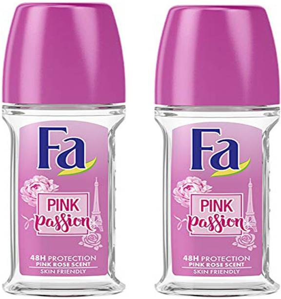 FA 2 Pink Passion Roll On Deodorant Roll-on  -  For Women