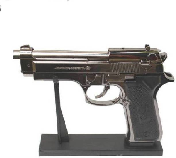 DYNAMIC MART 9MM PIA GUN SHAPE Plastic Gas Lighter