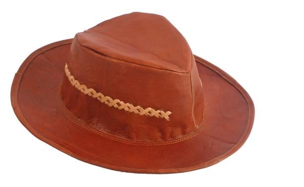 Creative Art And Craft Round Cowboy Hat