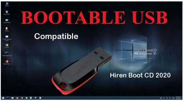 Compatible Hiren's Boot Pendrive Latest 2020 Edition Windows PC Repair Virus Removal Clone Recovery Password Reset