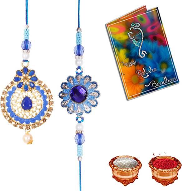 Elegaci Gifts Rakhi  Set