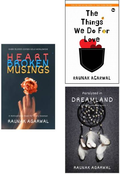 The Raunak Agarwal Collection (Set Of 3 Books)