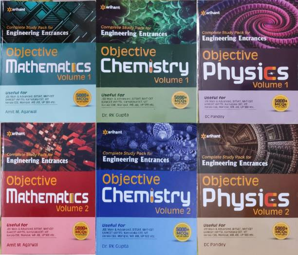 Objective Maths , Chemistry And Physics Vol 1and 2