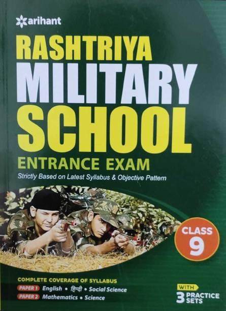 Rashtriya Military School Class 9th Guide 2019 - With 3 Practice Sets