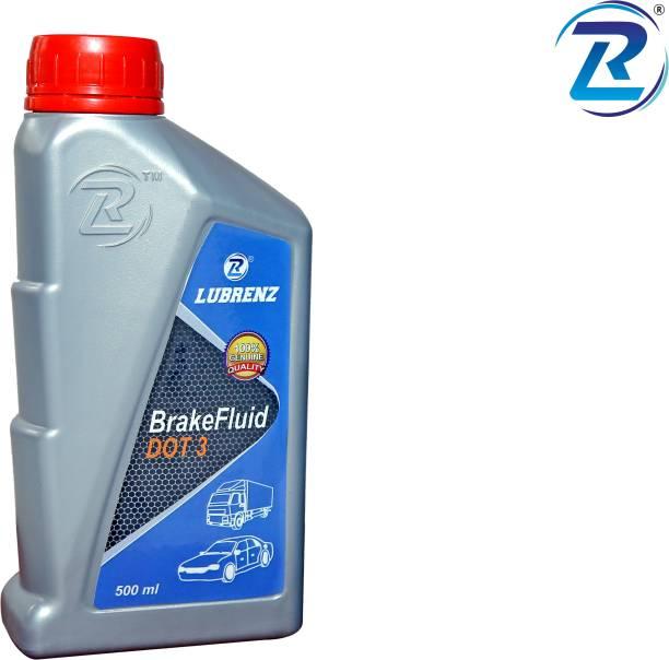 LUBRENZ BRAKE FLUID MEETS DOT3 Brake Oil