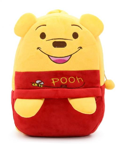 Kiddiewink Best Velvet School Bag for Nursery Kids, Age 2 to 5 Plush Bag