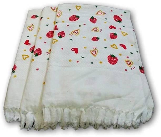 Tex Nature Cotton 120 GSM Bath, Hand, Face Towel Set