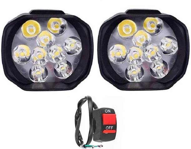 HI-TECH ACCESSORIES 9 LED SHILAN 2PC AND 1PC SWITCH Projector Lens