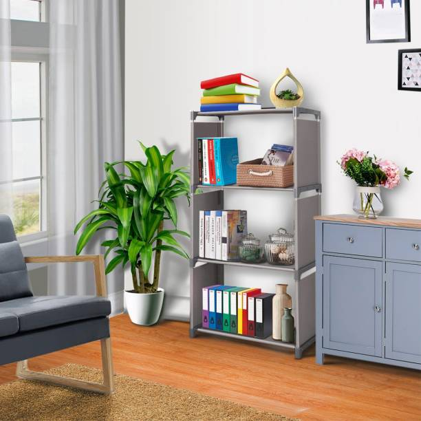 FURIONE 4 LAYER SMART Metal Open Book Shelf