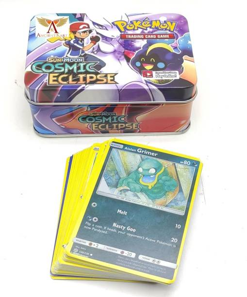 AncientKart Pokemon Celestial Storm Tin with cards