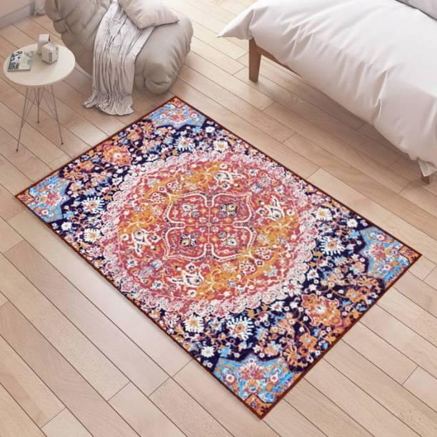 Flipkart Perfect Homes Multicolor Polyester Carpet