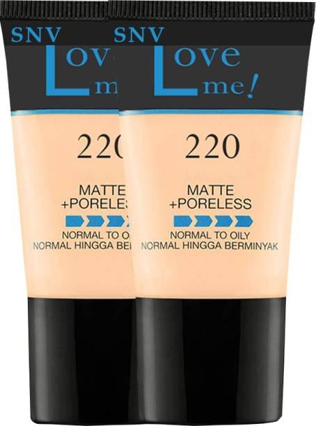 SNV Matte+Poreless Liquid Tube Foundation6282020A2 Foundation