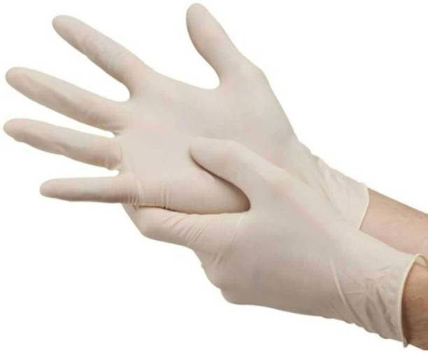 Accezory Latex Examination/Surgical Gloves, Safety Gloves, Hand Gloves, 99941 Latex Surgical Gloves