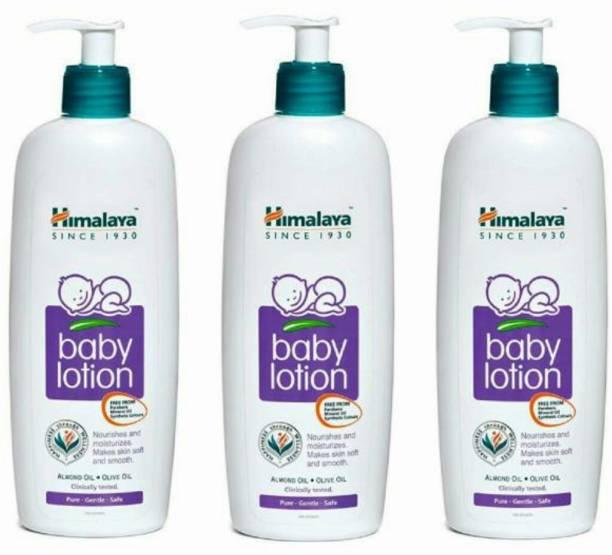 HIMALAYA baby lotin pack of 3 400 ml