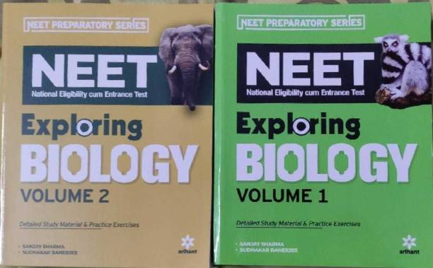 Arihant Exploring Biology For Neet Vol-1 And Vol-2