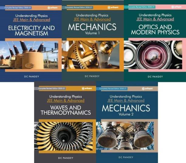 Understanding Physics Text Books For Jee Main & Advanced By Dc Pandey Edition 2020 Set Of 5 Books