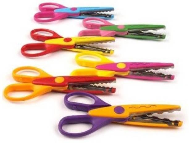 BVM GROUP Set of 6 Zig Zag Scissors