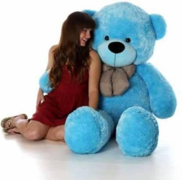 Mrbear 3 feet Blue teddy bear / Big very soft Blue teddy bear for pleasant Gift - 90.2 cm  - 90.2 mm