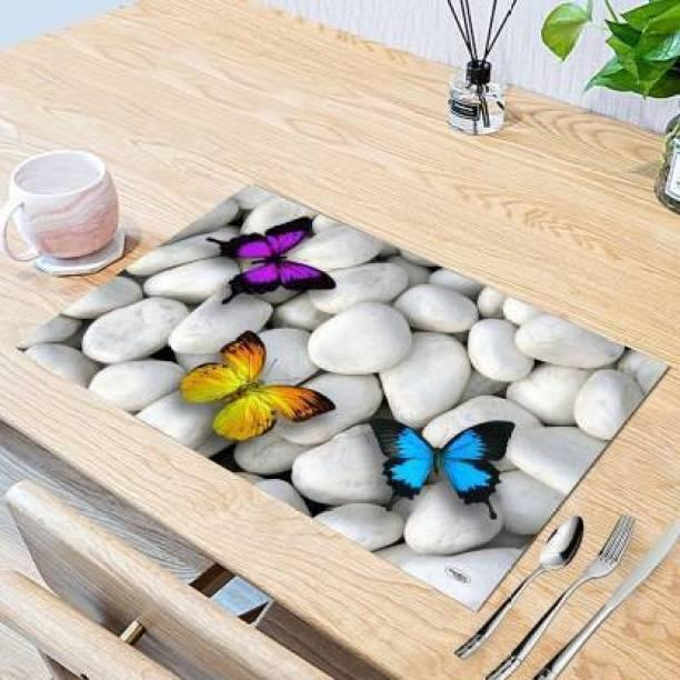Dakshya Industries Rectangular Pack of 6 Table Placemat