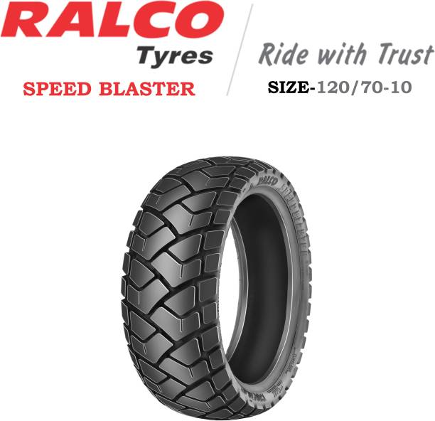RALCO TYRES 120/70-10 SPEED BLASTER 120/70-10 Rear Tyre