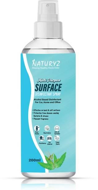 NATURYZ Multi Purpose Alcohol, Neem, Camphor based Surface Disinfectant