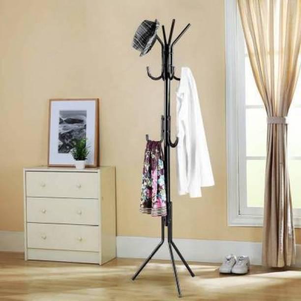 Avani MetroBuzz Iron Coat Rack Hanger Creative Fashion Bedroom for Hanging Clothes Shelves, Wrought Iron Racks Standing Metal Coat Stand