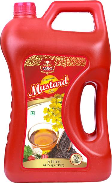 MSG Premium Mustard Oil Mustard Oil Can