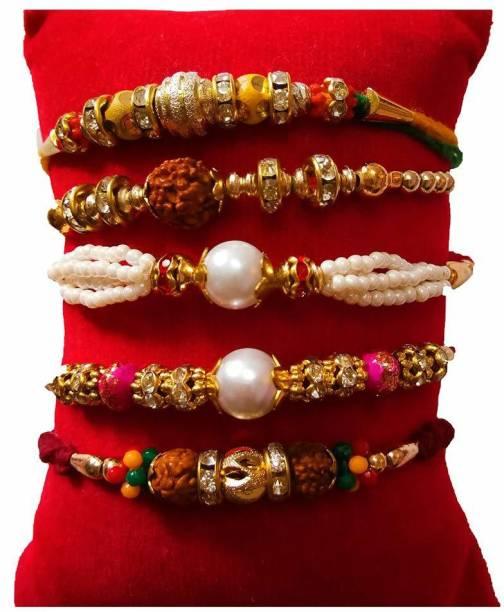Ananda Sales Designer Chawal Roli Pack, Rakhi  Set