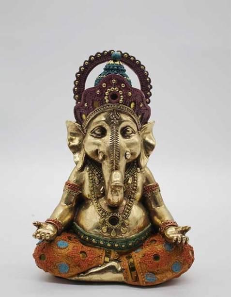 Lemon Tree Handcrafted Ganesha Figure Decorative Showpiece  -  25 cm