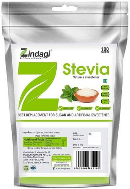 Zindagi stevia sachet Sugar