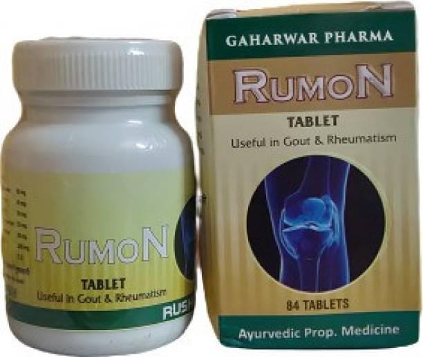 Gaharwar Pharma Rumon Tablet - 84 Tablets for joints pain