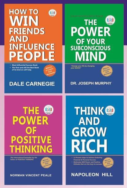 Personal Growth & Wealth (Set of 4 Books) : Perfect Self-Help Set