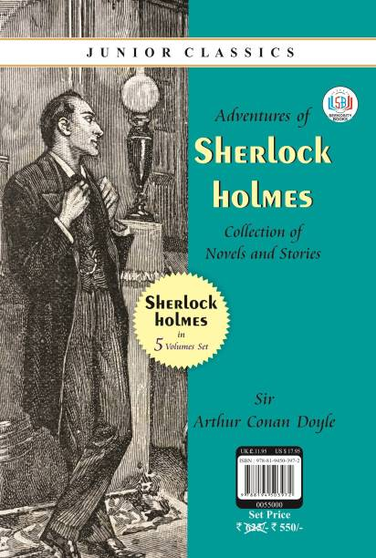 The Adventures of Sherlock Holmes (5 BOOKS COLLECTION)