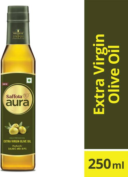 Saffola Aura Extra Virgin Blended Oil Plastic Bottle