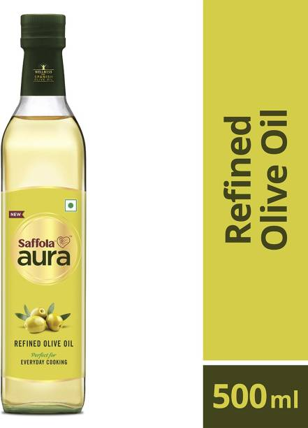 Saffola Aura Refined Olive Olive Oil Plastic Bottle