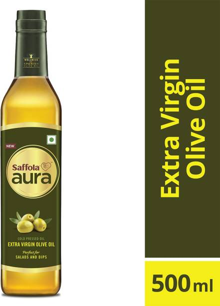 Saffola Aura Extra Virgin Blended Oil Plastic Bottle