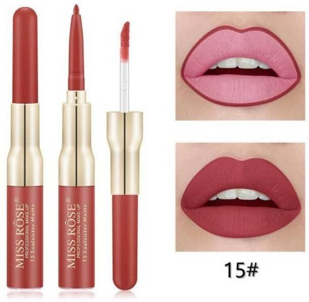 MISS ROSE Matte Lip Gloss & Lip Liner