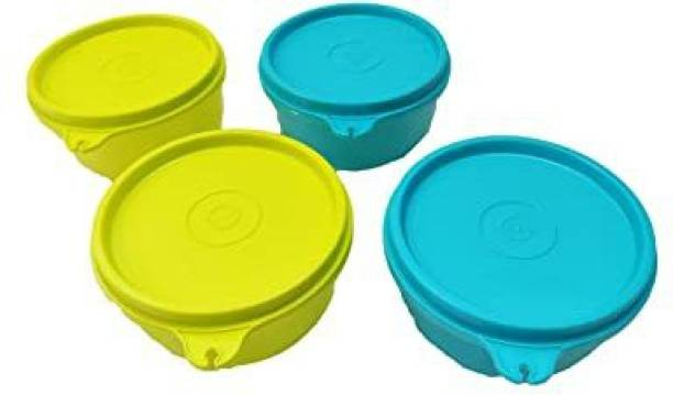 Tupperware Tropical Bowl set 4 Containers Lunch Box